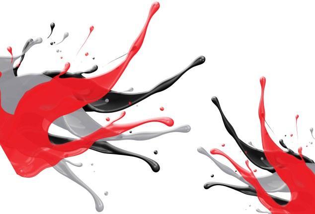 Freelance Graphic Design 3D Splash