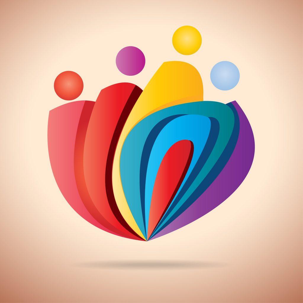 pixabay, logo, vector, line art, corporate branding